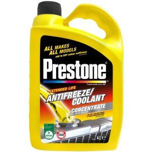 Prestone Antifreeze & Coolant Concentrate – 4L
