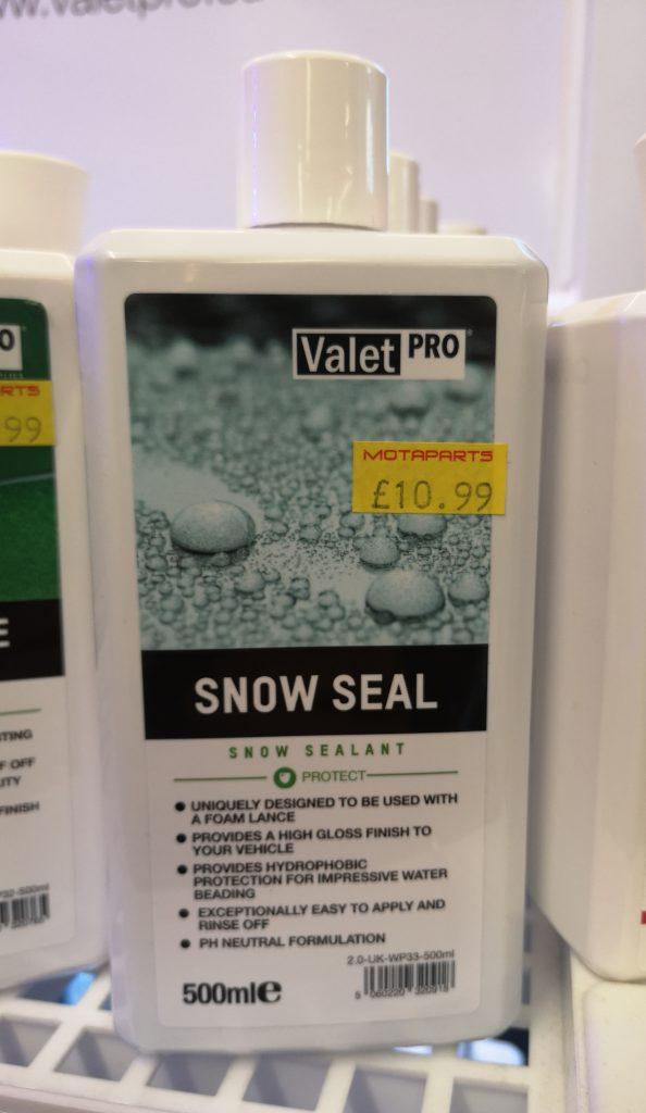 Valet pro snow seal 500ml