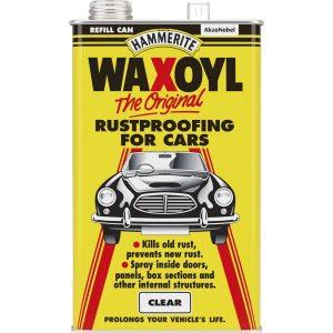 clear waxoyl