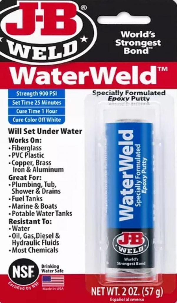 JB Weld J-B WaterWeld Epoxy Putty